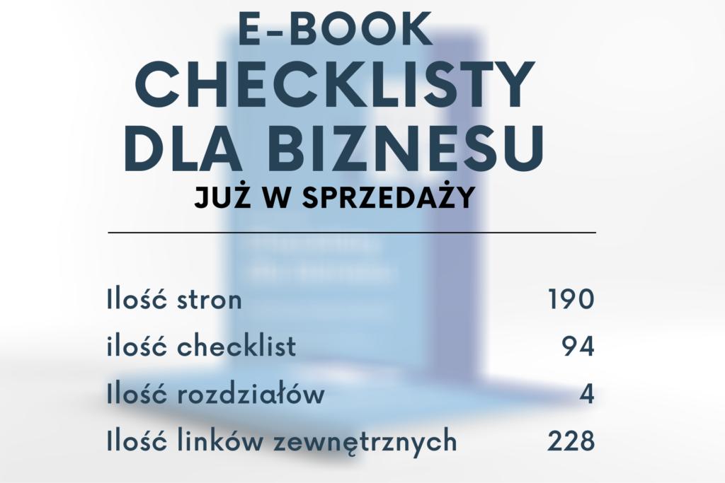 Checklisty. do zarządzania